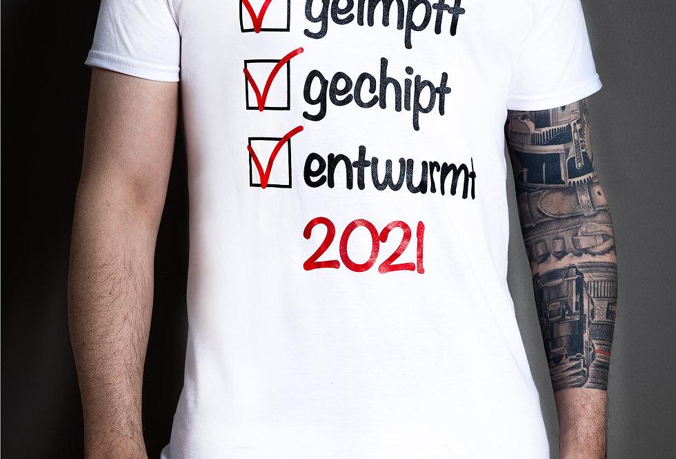 """T-shirt """"impfen"""""""