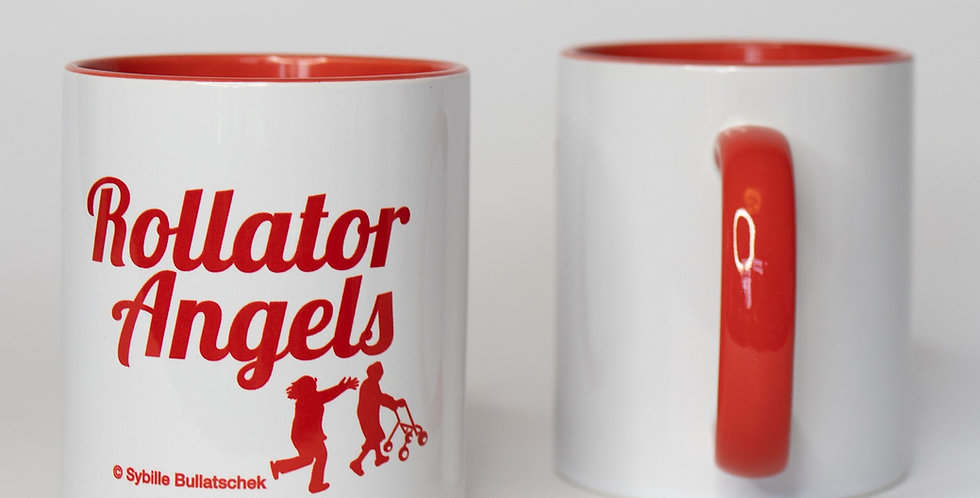 "Pflägetasse ""Rollator Angels"""