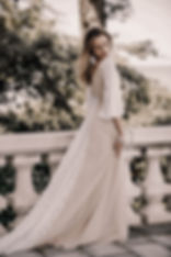 Flora and Lane's Lavie Gown