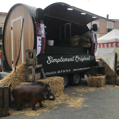 Le Wine Truck au Festival médiéval de Balaruc le Vieux