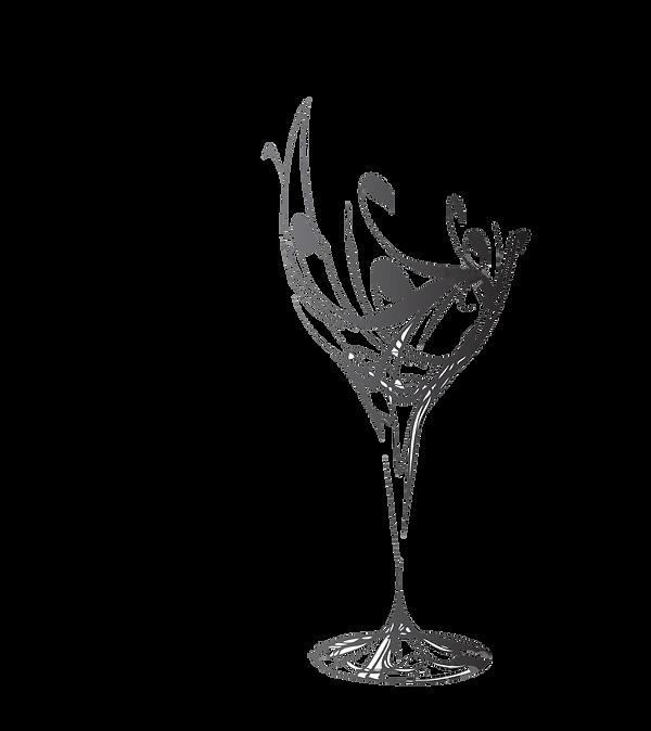 5702973-le-verre-à-vin-stylisé-pour-faut
