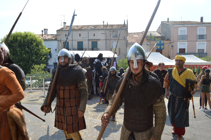Les Médiévales de Balaruc le Vieux