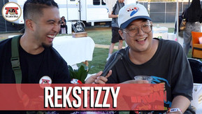 Rekstizzy Interview Backstage at 88Rising Festival