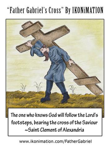 Father Gabriel's Cross