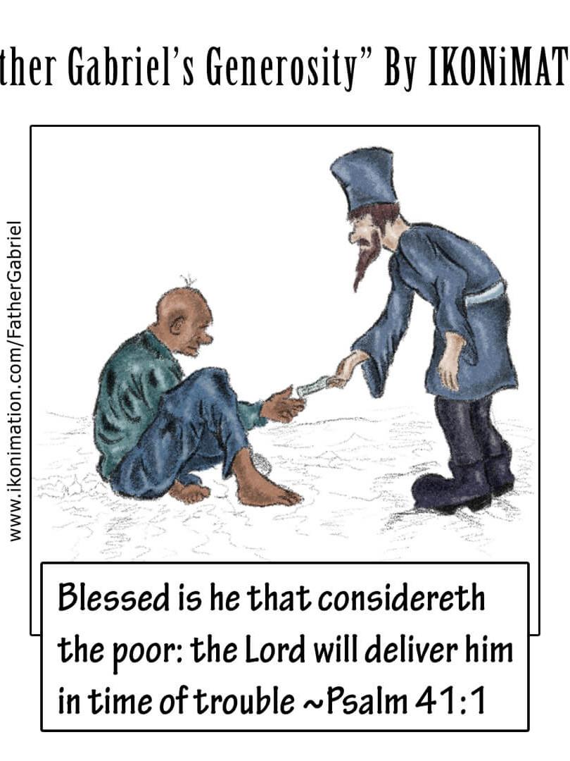 Father Gabriel's Generosity
