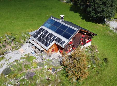 Photovoltaikanlagen sind nicht nur fürs Flachland