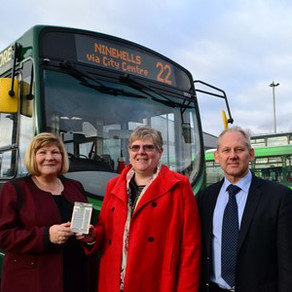 Well done Debbie...Free bus passes for cancer patients in Dundee... Thanks Xplore