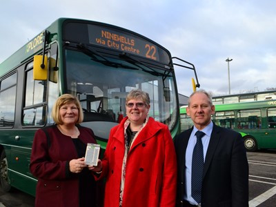 Check out the amazing story of how our Debbie managed to get free bus passes for cancer patients in Dundee..... Thanks Xplore x