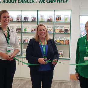 Macmillan Hub opens in Wellgate Library