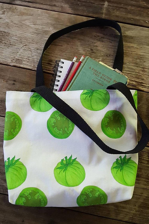 Green Tomatoes Farmer's Market Tote Bag