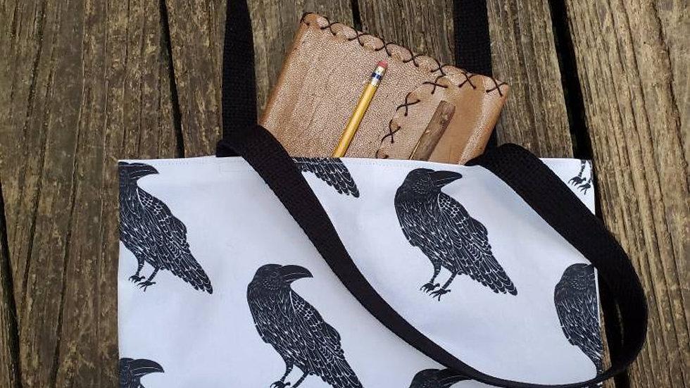 Raven Farmer's Market Tote Bag
