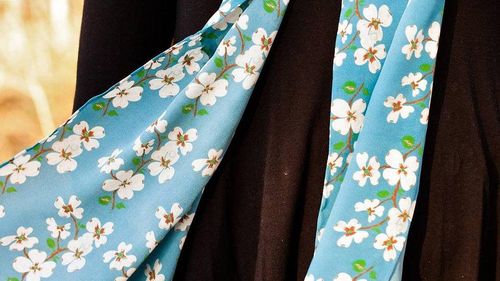 Dogwood Bloom Silk Scarf