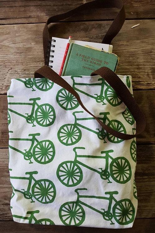 Bicycle Farmer's Market Tote Bag