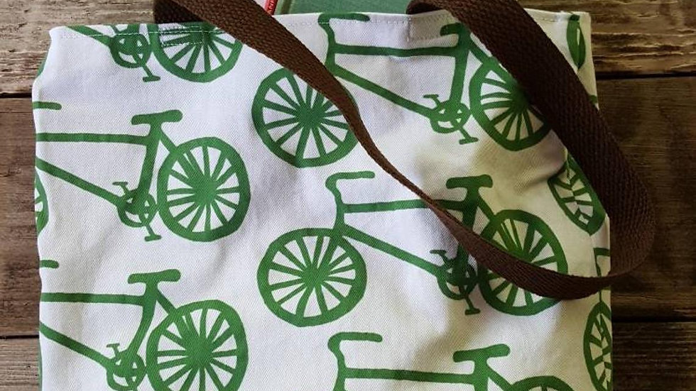 Bicycle Farmer's Market Tote Bag