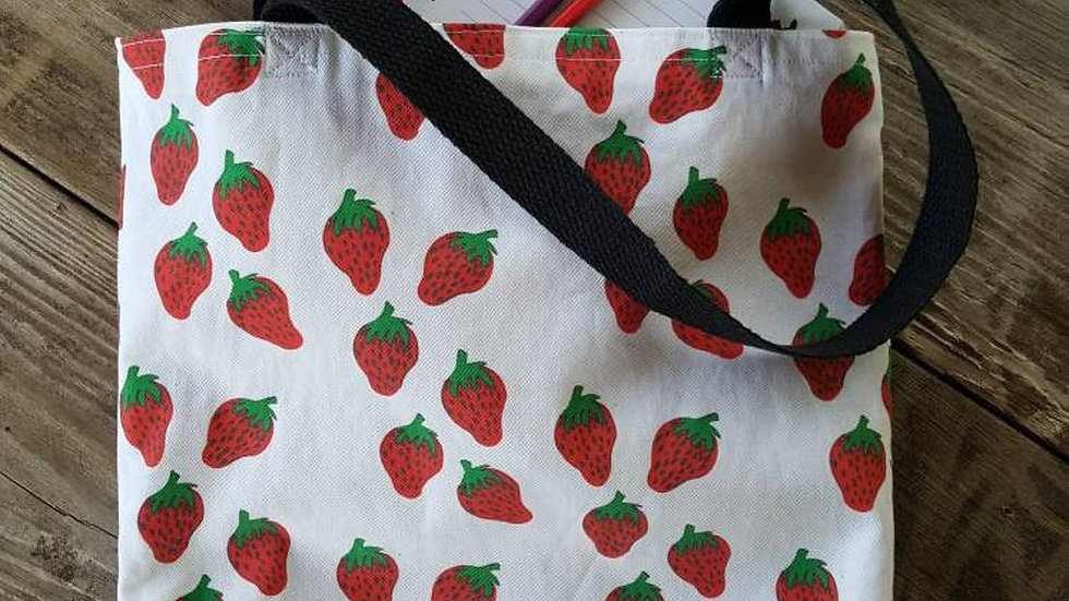 Strawberry Farmer's Market Tote Bag
