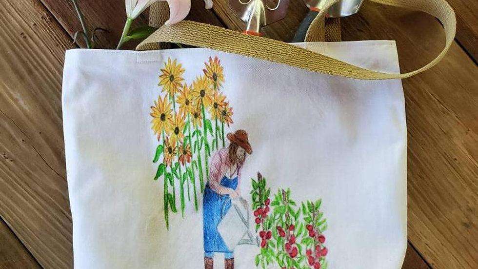 Gardener Farmer's Market Tote Bag