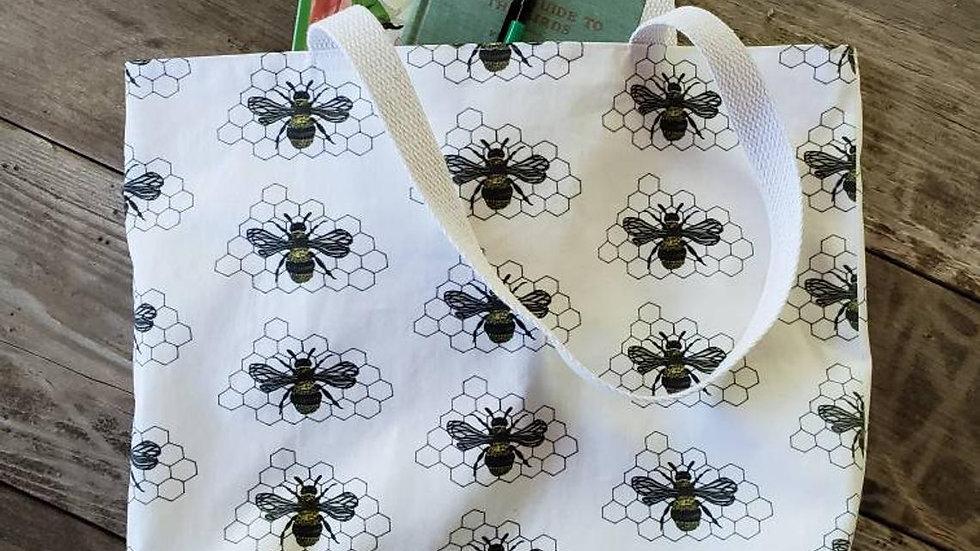 Honeybee Farmer's Market Tote Bag
