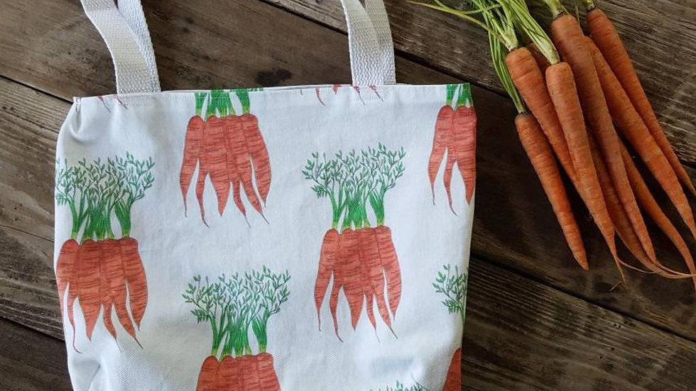 Carrot Farmer's Market Tote Bag