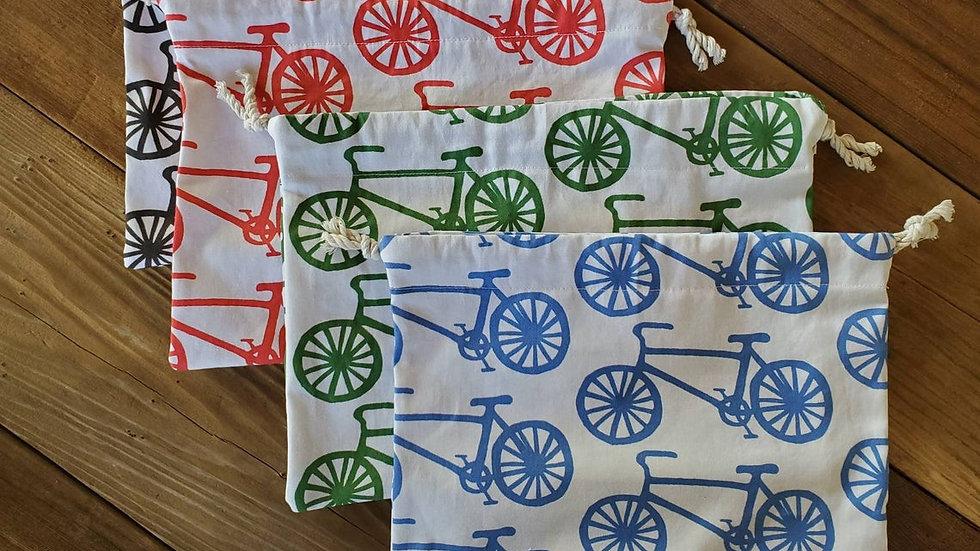 Bicycle Produce Drawstring Bag