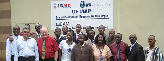 The internal audit training graduating class supported by GEMAP. The program has consisted most broadly of establishing and documenting internal controls and coaching all staff on how to implement control procedures.