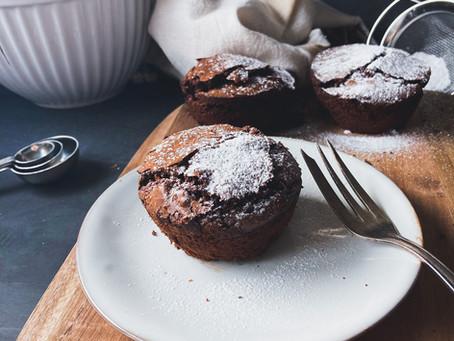 Brownies - glutenfrei, ohne Butter und raffiniertem Zucker