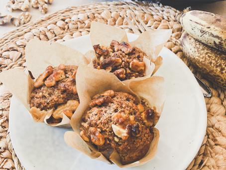 Banana - Walnut - Muffins