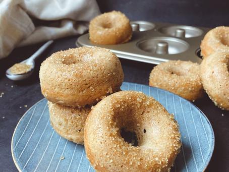 Gebackene, gesündere Donuts