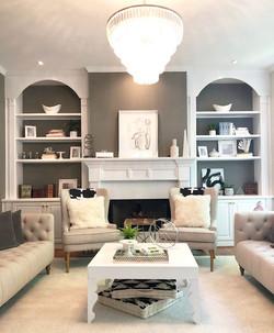 living room w light
