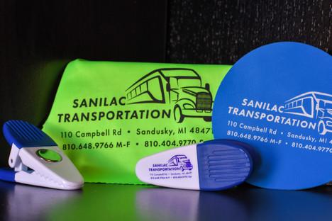 Promotional Items for Sanilac Transportation