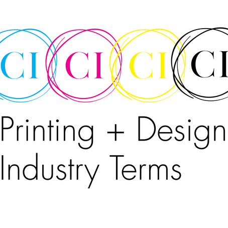 7 Printing + Design Industry Terms