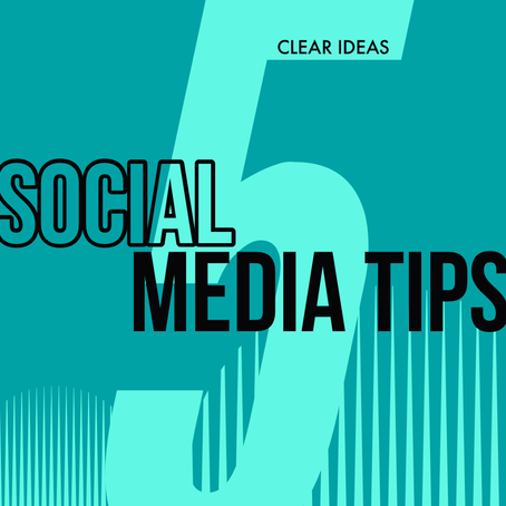 5 Social Media Tips Every Business Should Know.