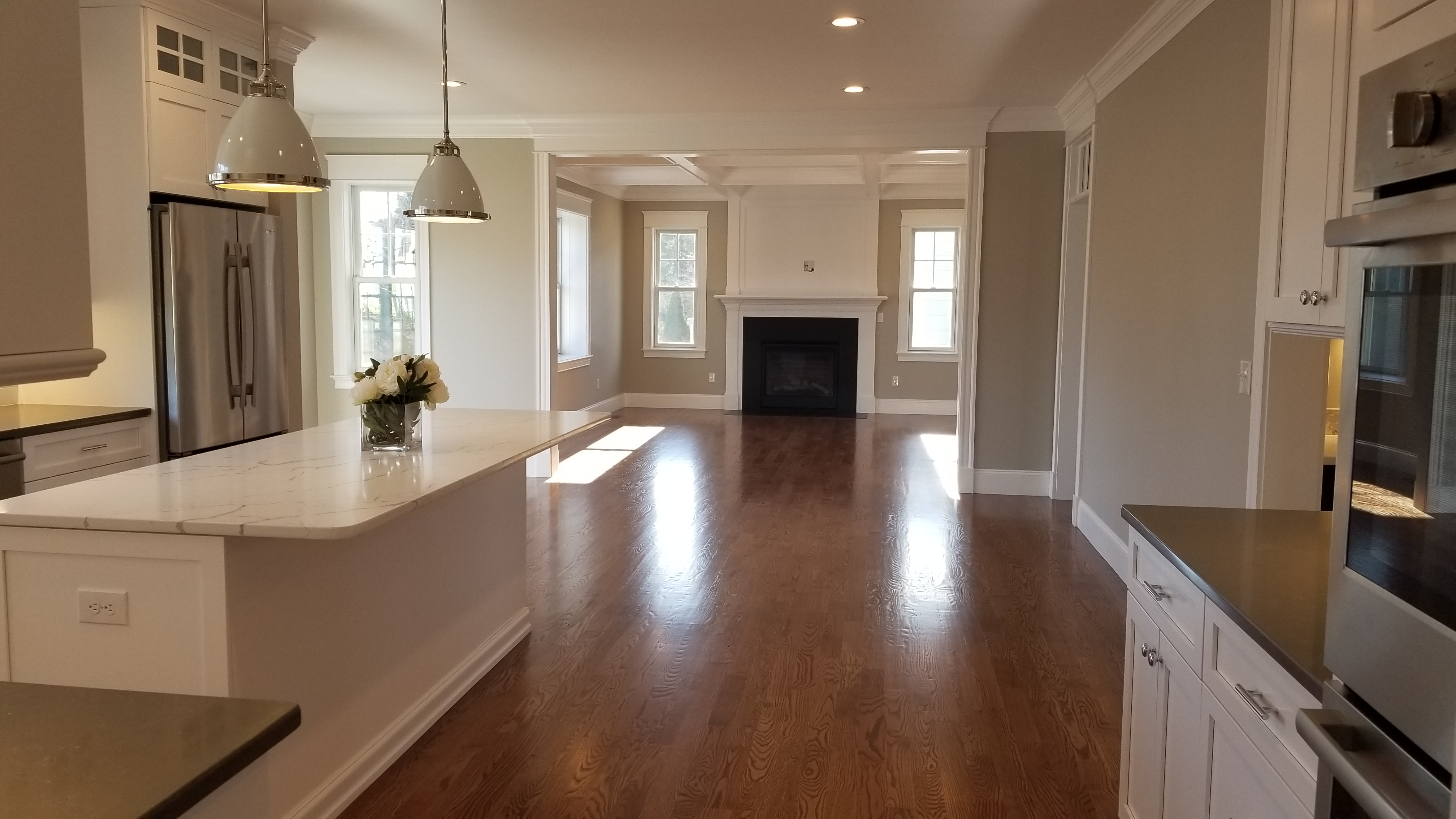 kitchen and living room builders
