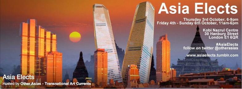 Asia elects, Art Licks, London
