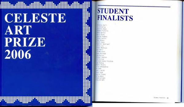 Finalist Celeste Art Prize
