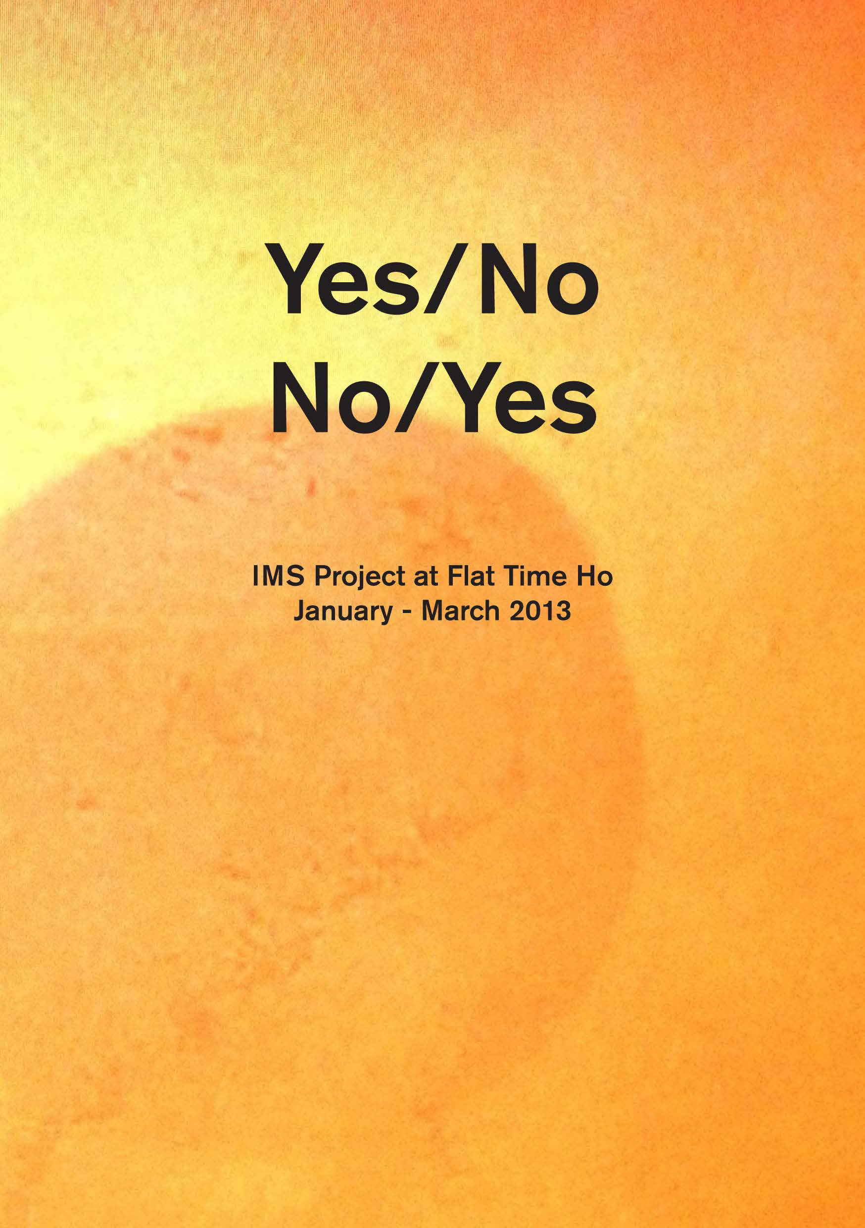 Yes/No publication