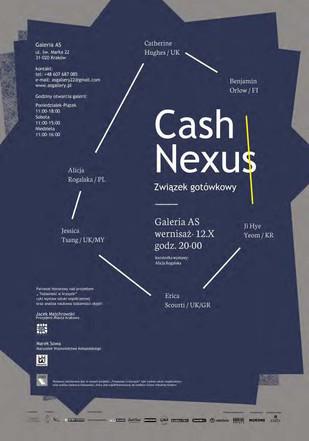 Cash Nexus, AS Gallery, Krakow