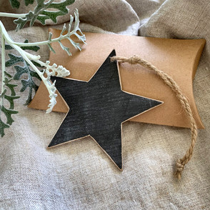 Handmade Chalkboard Star