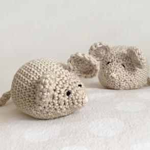Handmade Crochet Mouse
