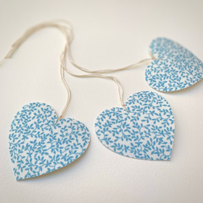Handmade Heart Tags