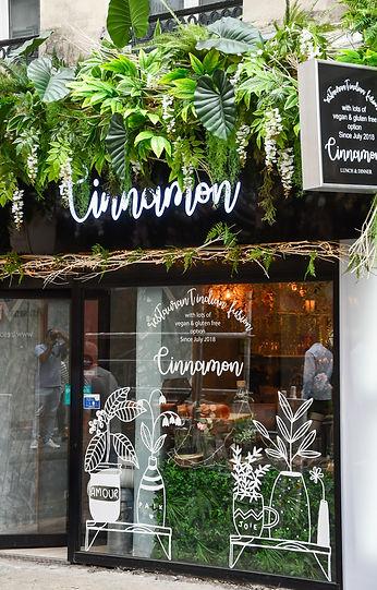 restaurant Cinnamon 41 RueDauphine  75006 Paris