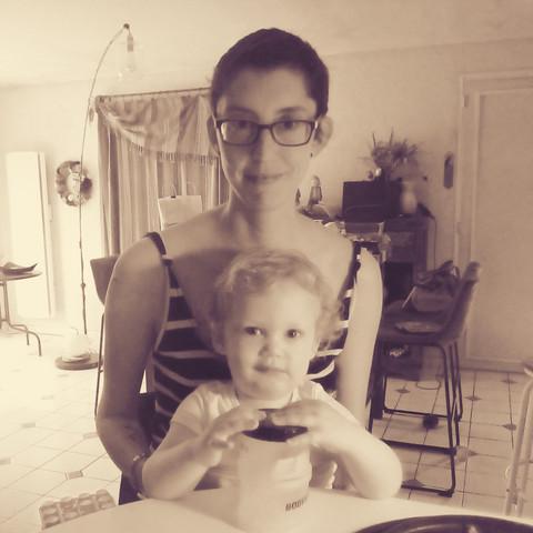 Isabelle et son fils