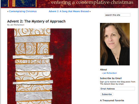 Advent Reflections 1 - The Advent Door by Jan Richardson