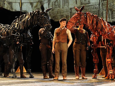 Art that invited me to play - War Horse