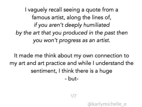 The feeling of art