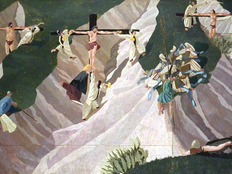 Good Friday - Crucifixion, Stanley Spencer