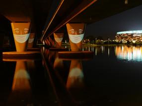 Masks Under Bridges #2