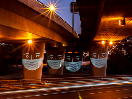 Masks Under Bridges #1