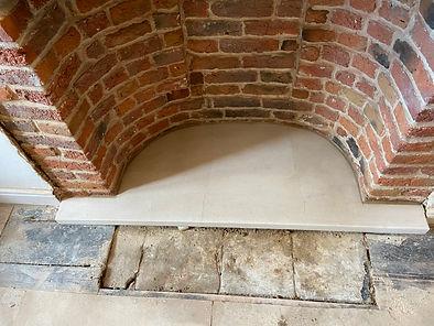 Restoration to chimney cornice
