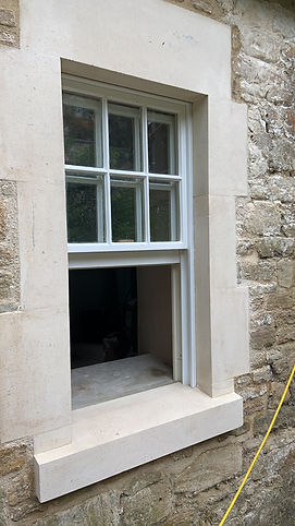 Using new build stone for a restoration project