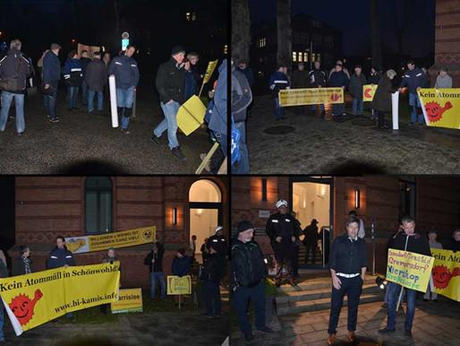 SH-Bürgerinitiativen protestieren gegen Habecks Atommüll-Politik: Null Beteiligung, null Transparenz